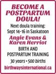 BECOME A DOULA!