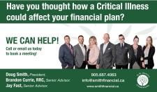 Have you thought how a Critical Illness could affect your financial plan?