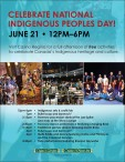 CELEBRATE NATIONAL INDIGENOUS PEOPLES DAY!
