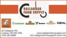 CALLAGHAN FARM SUPPLY