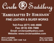 Circle R Saddlery FINE LEATHER & SILVER WORKS