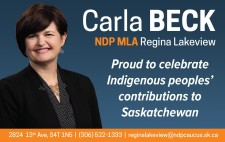 Carla Beck is Proud to celebrate Indigenous peoples'