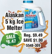 Alaskan 5kg Ice Melter at Youngs Home Hardware