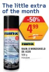 RAIN-X WINDSHIELD DE-ICER