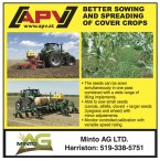 BETTER SOWING AND SPREADING OF COVER CROPS