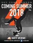 SKY ZONE LONDON  COMING SUMMER 2018