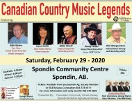 Canadian Country Music Legends