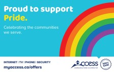Access COMMUNICATIONS CO-OPERATIVE Proud to support Pride