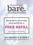 Chemical-Free Bare Cleaning Essentials