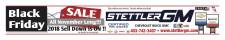 Stettler GM Black Friday  SALE