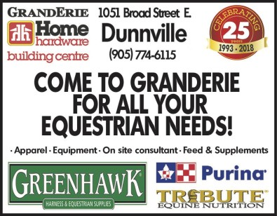 COME TO GRANDERIE FOR ALL YOUR EQUESTRIAN NEEDS!