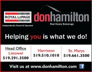 ROYAL LePAGE Independently Owned & Operated: Don Hamilton Real Estate Brokerage