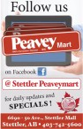 Peavey Mart 100% Canadian Owned