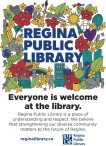 Everyone is welcome at the library.