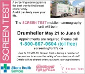 Alberta Health Services Screen Test
