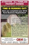 Have you completed your 2018 Farm Business Registration?