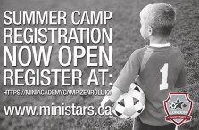 Mini Stars SUMMER CAMP REGISTRATION NOW OPEN
