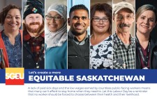 Let's create a more Equitable Saskatchewan