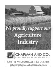 We proudly support our Agriculture Industry