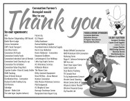 Coronation Farmer's Bonspiel would like to say Thank you to our sponsors