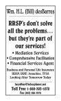 RRSP's don't solve all the problems... but they're part of our services!