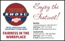 RWDSU Hopes You Enjoy the Festival!