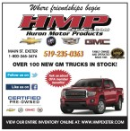 OVER 100 NEW GM TRUCKS IN STOCK at Huron Motor Products