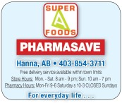 SUPER A FOODS PHARMASAVE For everyday life...