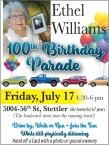 Ethel Williams 100th Birthday Parade