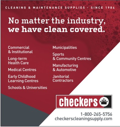 No matter the industry, Checker has clean covered