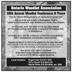 25th Annual Woodlot Conference & Tours
