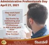 Administrative Professionals Day April 21, 2021