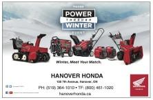 Honda POWER THROUGH WINTER EVENT