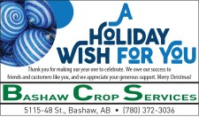 A HOLIDAY WISH FOR YOU from Bashaw Crop Services