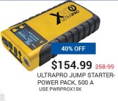 Ultrapro Jump Starter-Power Pack, 500A