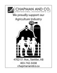 Proudly support our Agriculture Industry