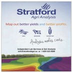 Stratford Agri Analysis Map out better yields and better profits.