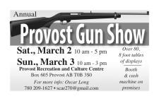 Annual Provost Gun Show