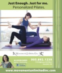 Movement Unlimited Personalized Pilates