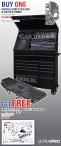 BUY ONE RADICAL SERIES TOOL BOX & CREEPER COMBO, GET FREE this 150 PIECES-AUTOMOTIVE/LIGHT TRUCK MASTER TOOL SET