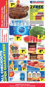 Real Canadian Superstore  Weekly Sales