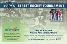 Tim Hortons GOT GAME  STREET HOCKEY TOURNAMENT
