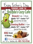 Enjoy Father's Day at Brenda's Cozy Cafe