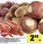 Beets, rutabaga, naturally Imperfect carrots,  white or Russet potato at Real Canadian Superstore