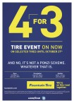 Fountain TIRE EVENT ON NOW ON SELECTED TIRES