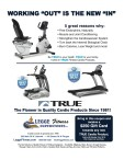 Invest in TRUE Fitness Cardio Products.