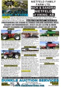 Timed online unreserved farm auction
