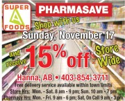 Shop with SUPER FOODS PHARMASAVE