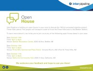 Inter Pipeline Open House