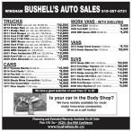 BUSHELL'S AUTO SALES in WINGHAM